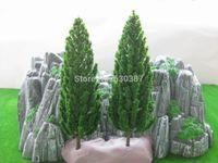 Оптовые- S16060 Модель Сосновые деревья Deep Green для O G Масштаб 160мм Новый