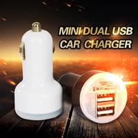 Pour Iphone 6 7 Chargeur voiture USB Bullet Mini chargeur voiture Chargeur portable universel Adaptateur universel pour Samsung s6 s7 Livraison gratuite DHL