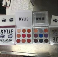 Kylie Bronze Kyshadow Bourgogne Poudre pressée Eye Shadow Palette Maquillage Kylie Jenner Holiday Kit Cosmétique 9 couleurs Ombre à paupières cadeau de Saint-Valentin