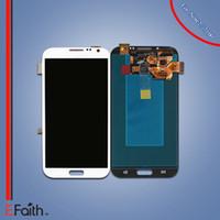Pour le blanc Samsung Galaxy Note2 N7100 Touch écran LCD digitizer remplacement gratuit DHL expédition