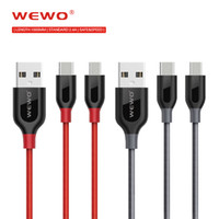 USB Data Charger Cable Nylon Braided Wire Metal Plug Micro U...