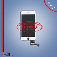 Grade A +++ Blanc Affichage LCD Touch Digitizer Cadre Assemblage Réparation pour iPhone 7 DHL livraison gratuite