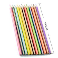 12 Colors Wooden Colored Pencils for Secret Garden Drawing W...