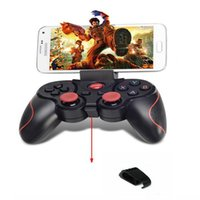 Terios T3 Wireless Bluetooth Gamepad Joystick Game Gaming Controller Télécommande pour Samsung S6 S7 HTC Android Smart Phone Tablet TV Box