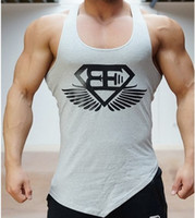 New Arrival BE Muscle brothers Stringer Tank Top Men Bodybui...