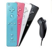 WII Wireless Bluetooth Game Controllers 2 en 1 Joysticks Accélérateur intégré un jeu (gauche + droite) Pour wii WiiU