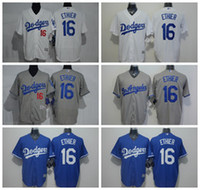 MLB Baseball 16 Andre Ethier Jersey Los Angeles Dodgers Flex...