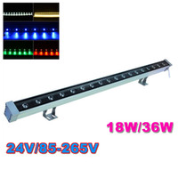 led outdoor light super bright led lamp wall washer RGB 36W ...