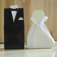 Fashion wed groom&bride black new marriage charm Shower Favo...