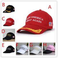120pcs сделать Америка Великий Снова Hat Дональд Трамп Республиканский Snapback Спорт шапки Бейсболки Флаг США Мужские Женская мода Cap