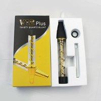 Оригинальные Трубы V12 Plus Извилистые Glass Blunt сухой травы Испаритель Vape Pen Fit со стеклом Bubbler