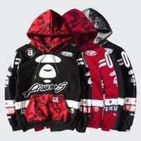 suprem hoodies 3d sweatshirt championer yezzus men black Mal...