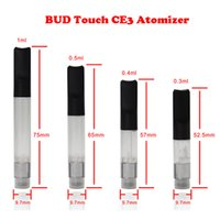 BUD CBD CE3 Touch O-stylo Atomiseur CBD Réservoir d'huile 510 Cartouche O Pen CE3 0.1 0.3 0.4 0.6 1.0ml Vaporisateur E Cigarette Vape Mods ecig Huile New DHL