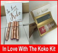 Kylie In Love with Koko KOLLECTION Blush Highlighter Palette + губная помада для губ Contour eyeshadow Автор KYLIE Cosmetic