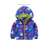 80- 120cm Cute Dinosaur Acitve Children Boy Jackets Spring Cl...