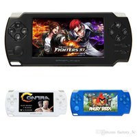 2016 nouvelle vente console psp jeu 8g 4.3 pouces tactile gba ultra-mince écran x8 handheld 4000in1 consoles mp3 mp4 mp5 player video fm camera