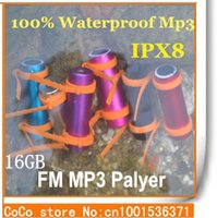 Wholesale- 100% IPX8 Waterproof MP3 Player 16GB Sports Mp3  ...