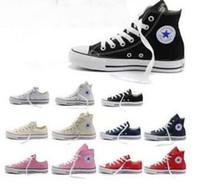 Zapatos de lona clásicos de la tapa del zapato de lona de las nuevas de la estrella del tamaño 35-45 de la nueva estrella grande de los zapatos ocasionales altos altos 35-45 de los deportes Zapatos de lona clásicos de los hombres /