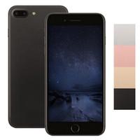 Goofón I7 más el smartphone 1G / 16G puede demostrar la falsificación 1G / 256G 5.5inch Real fingerpint quad core MTK6580 falso 4G LTE teléfono desbloqueado