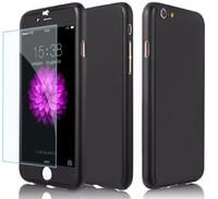 Ultrafina duro híbrido PC cuerpo completo de cobertura de protección dura caja de teléfono delgado para iphone 6 plus