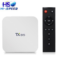 android tv box S905X TX95 Quad- core android 6. 0 2g16g 2. 4G 5...