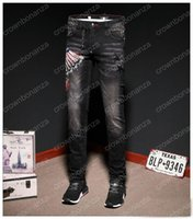 Fashion New Men Elasticity Skinny Slim Biker Jeans Eagle Pri...