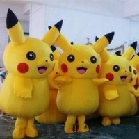 2017 HOT new Pikachu Mascot Costume Popular Cartoon Characte...