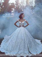 Luxury 2017 New Arrival Lace Wedding Dresses Off Shoulder Ba...