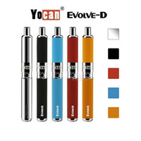 Kit Yocan Evolve-D Kit Evolve Kit Yocan Evolve D Vaporisateur à herbe sèche Dual Coil vs Yocan Evolve Plus Original