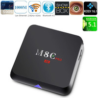 M8C PRO TV Box S905 Android 5. 1 2. 4GHz 5GHz WiFi Bluetooth4....