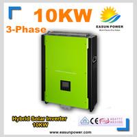 Горячее надувательство солнечного инвертора 48V инвертора 10KW солнечного солнечного к 380V 380VW MPPT чистому гибридному инвертору 40A инвертора синуса гибридному