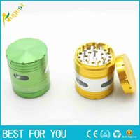 New Side Window 63mm Electric 4 Parts Grinders Aluminum Allo...