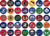 Free shipping 2016 NEW Sport Hockey 35pcs   lot glass snap b...