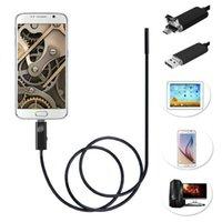 Wholesale- 1M 5. 5MM 1. 3MP Endoscope Waterproof 6LED USB 2. 0 ...