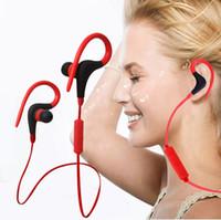 Для iPhone 7 плюс беспроводной Bluetooth Мини-наушники MP3-Спорт Бег Earbuds V4.0 гарнитура наушники ушной крючок