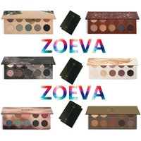 ZOEVA Eyeshadow Glow Kit Palette Mixed Metals Cocoa Blend Ro...