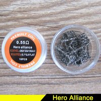 Hero Alliance Pre- built Coils Wires Resistance heating wire ...