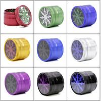 Новейшие двухшпиндельные шлифовальные станки для шлифования алмазов 63 мм Травосборник из алюминиевого сплава Травильная мельница 4 слоя 9 цветов
