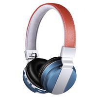 2016 Nouveau casque sans fil bluetooth, BT-008 casque bluetooth avec prise de carte TF support FM radio casque pliable