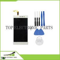 Vente en gros Original pour DOOGEE DG900 blanc et noir LCD et écran tactile