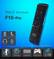 F10 Pro 2. 4GHz Wireless Keyboard Air Mouse Remote Control Ea...
