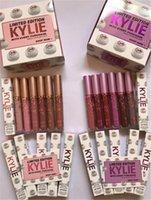En stock Kylie edición limitada mate Lápiz labial líquido Kylie Jenner brillo labial con cada compra 12 colores