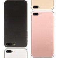 1: 1 i7 Plus 5.5inch 7Plus смартфон сенсорный ID 4G LTE 1GB / 8 + 8GB MTK6735 Real Fingerprint Мобильные телефоны Quad Core разблокирована сотовых телефонов