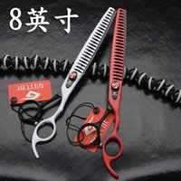 "8"" Professional Pet Grooming Scissors, Thinning Scissors..."
