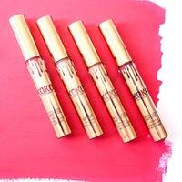 КОКО Kollection золота на день рождения ограниченный макияж 4шт / комплект KYLIE Liquid матовые помады Kollection Кайли косметика блеск для губ В фондовой DHL Free