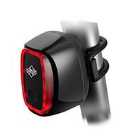 Waterproof LED Bike Bicycle Tail Light 50 Lumens USB Recharg...