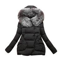 High Quality Parkas Mulheres Femininas Casaco de Inverno 2016 Novo Espessamento Cotton Winter Jacket Mulheres Outwear Parkas para 4XL Feminino Jacket Feminino H47