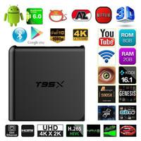 T95X 2G 8G Amlogic S905X Android 6. 0 TV Box Quad Core 2. 4G w...