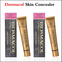 Dermacol Skin Concealer Водонепроницаемый новый макияж 30g Дермакольная базовая обложка Extreme Covering Anniversary Limited Version Branded Cosmetic