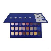 Lorac mega pro 2 Ombre à paupières bleue 32color Palette Shimmer Matte Brands Ombre à paupières Maquillage Eyes Cosmetic DHL livraison gratuite